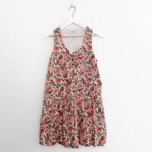 Madewell Lotus Leaf Dropwaist Dress
